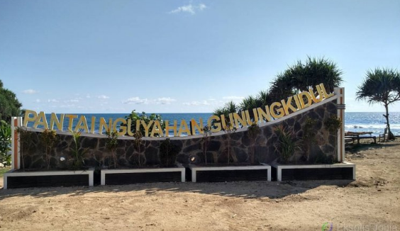 Lokasi Objek Wisata Pantai Nguyahan Gunung Kidul Jogja