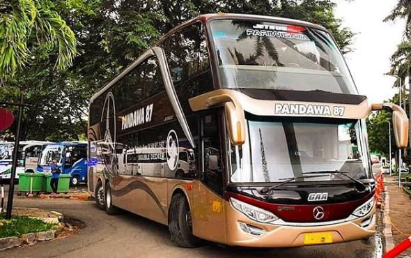 Harga Sewa Bus Pandawa 87 Terbaru
