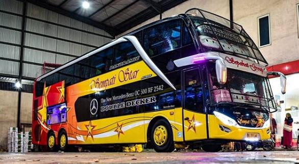 Harga Tiket Bus Sempati Star Terupdate 2020