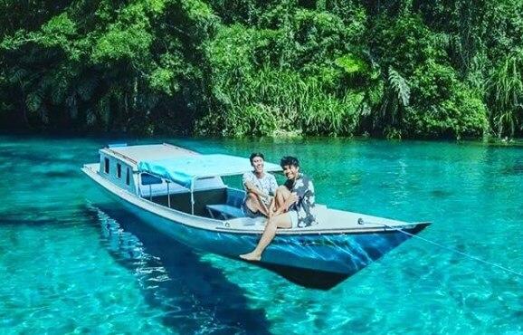Danau Labuan Cermin, Danau Dua Rasa Di Kalimantan Timur