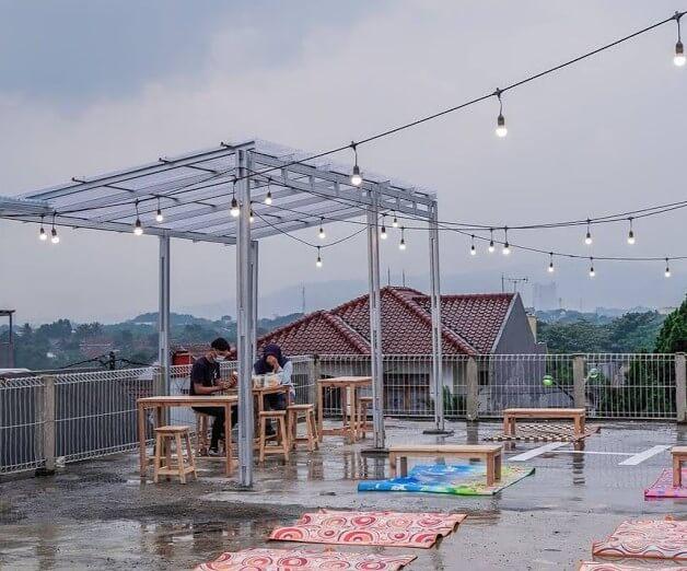 Angkringan Rooftop Bogor - Review, Lokasi dan Harga Menu